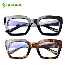 SOOLALA Square Anti Blue Ray Computer Glasses Men Radiation Light Blocking Women Gafas Protecci N Ordenador
