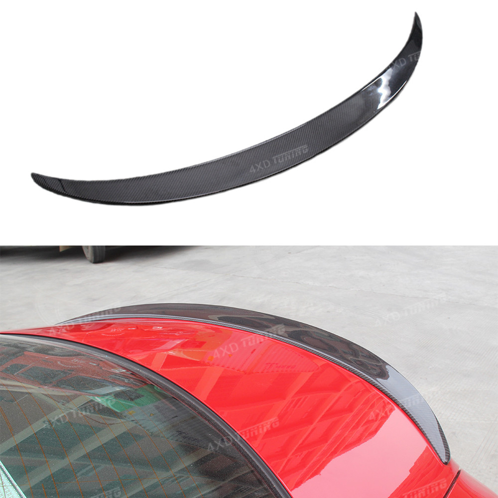 For Mercedes CLA W117 Carbon Spoiler AMG Style Carbon Fiber Rear Trunk Wing Spoiler CLA Class W117 CLA45 Car Spoiler 2013 - UP w205 c63 style carbon fiber car rear trunk lip spoiler wing for mercedes benz w205 4door 2015 2016