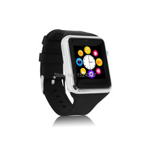 Cheap android bluetooth smartwatch phone GSM 850/900/1800/1900 fone watch FM Mp3/4 camera touch screen sync sport healthy watch