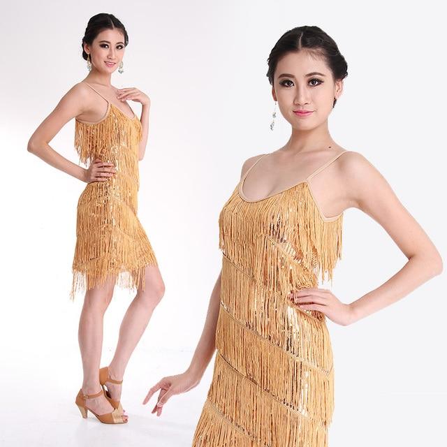 Лидер продаж 2016 года популярны дешевые латинских танцев платье сексуальная сцена юбка для танцев костюм для женщин Распродажа