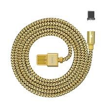 Remax Магнитный кабель передачи данных 2.1A кабель быстрой зарядки с светодиодный подсветкой для Xiaomi samsung huawei для iPhone 6 7 8 X XS