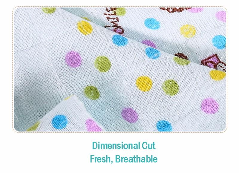 Square Cotton Cartoon Baby Bath Towel (16)