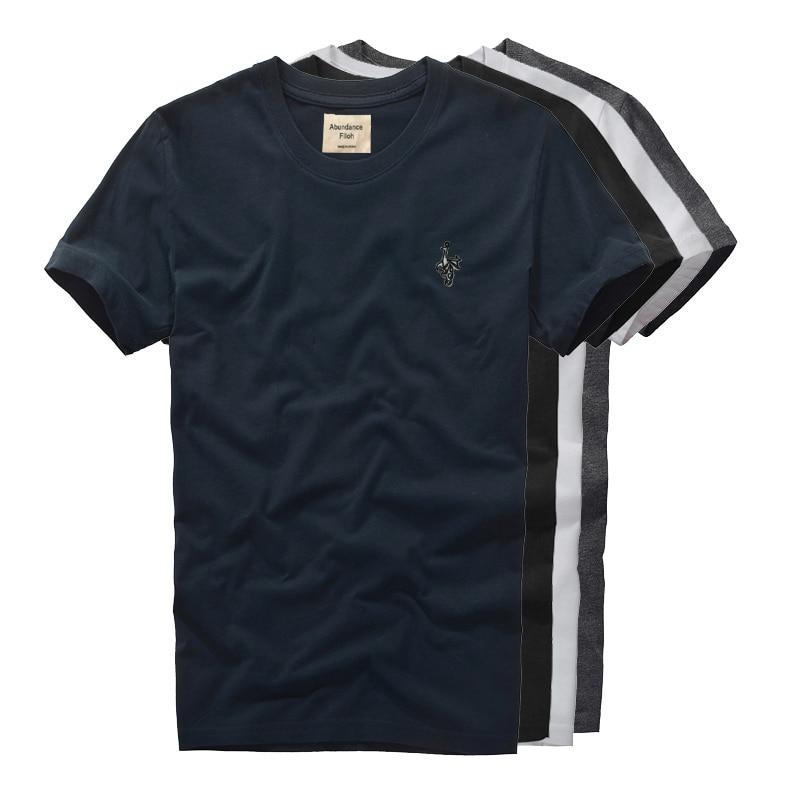 T-Shirt Short-Sleeve Fashion Brand Cotton Loose Men's Summer New