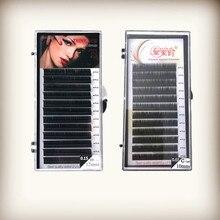 Hot Lash Extension Mink Eyelash Extensions Individual Eyelashes Natural False Soft Cilia for Sale