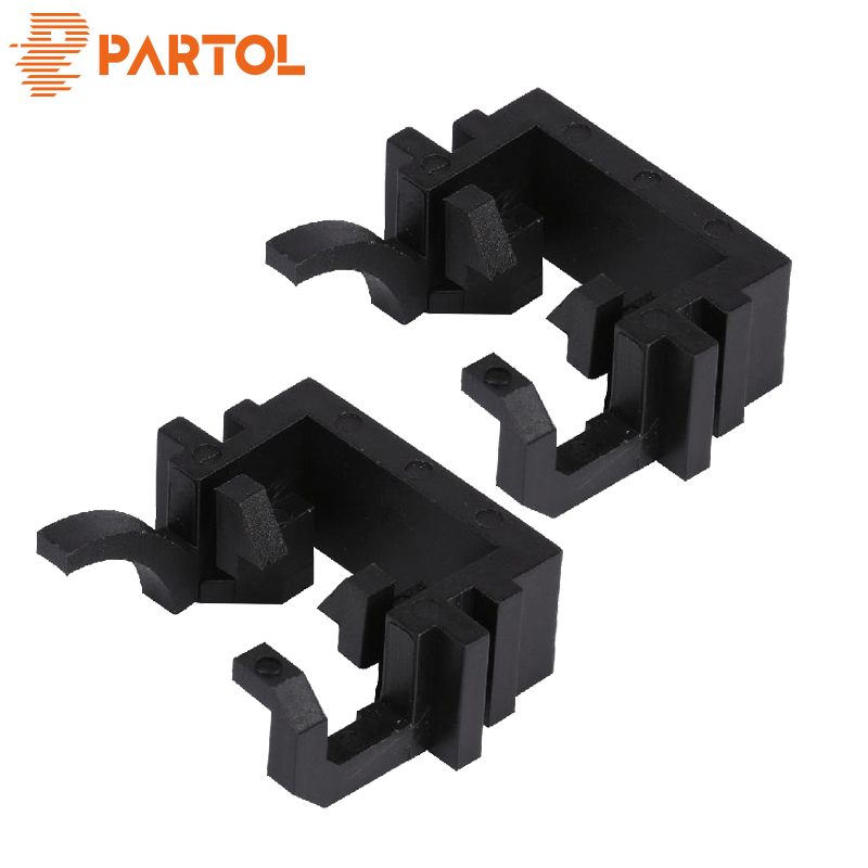 Partol H1 LED Headlights Bulbs Base Holders Adapter Sockets Car Headlamp Clip Retainer Adaptor Kit for Ford Focus Fiesta MondeoPartol H1 LED Headlights Bulbs Base Holders Adapter Sockets Car Headlamp Clip Retainer Adaptor Kit for Ford Focus Fiesta Mondeo