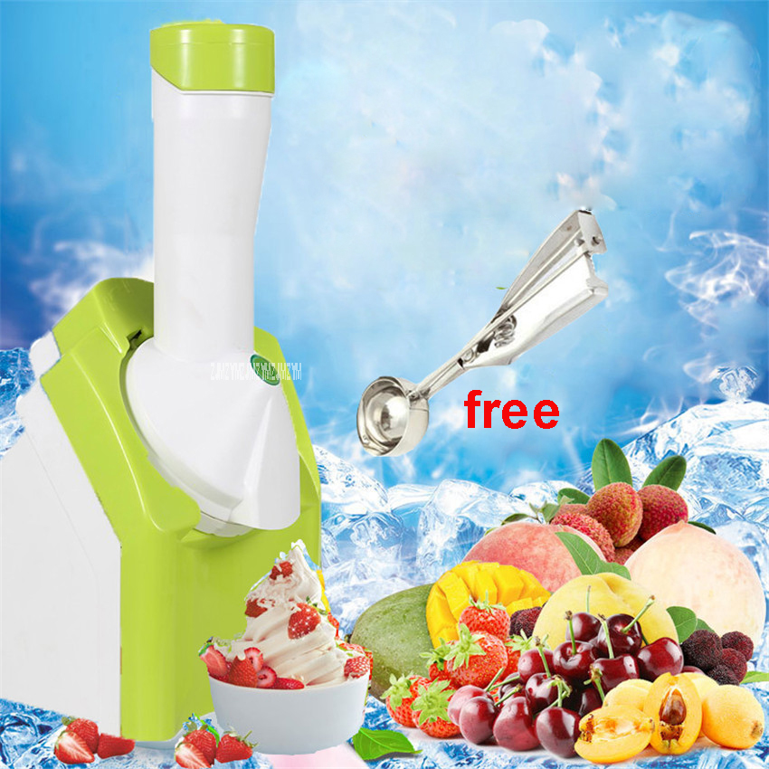 XY 200 220V High Quality NEW Ice Cream Machine Mini Fruit DIY Ice Cream Automatic Coffee Maker For Baby Gift For Children 200 W