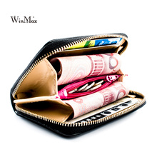 Women Short Wallets PU Leather Female Solid Purses Nubuck Card Holder Wallet Fashion Woman Small Zipper Wallet With Coin Purse #