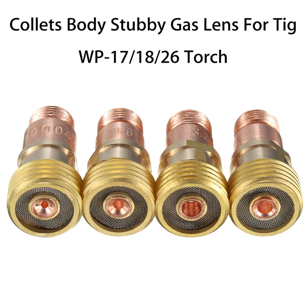 """3//32/"""" 10N24 TIG Collet Tip WP-17 WP-18 WP-26 TIG Welding Torch Accessory 10PCS"""
