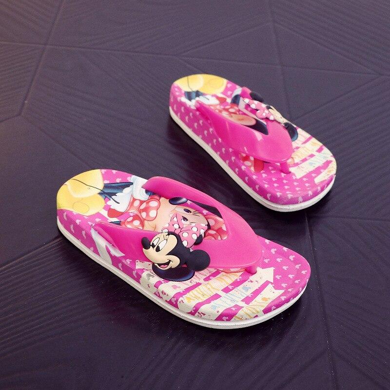 Kids Non-Slip Black Cats Rule Slippers Summer Beach Sandals for Boys Girls