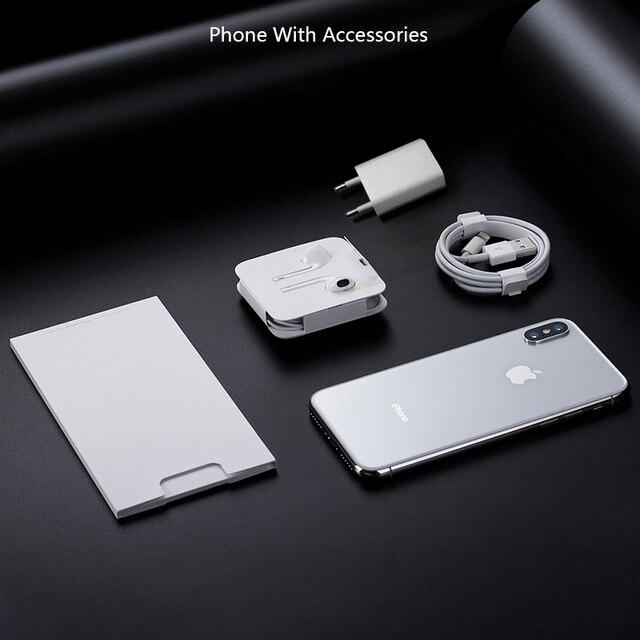 "2017 Unlocked Original Apple iPhone X 5.8"" 3GB ROM 64GB/256GB Face ID 2716mAh Hexa Core 12MP Back Camera iOS 4G LTE Smartphone 4"