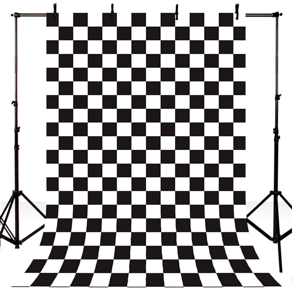 Newborn Photography Backdrops Vintage Checkerboard Photo