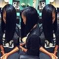 Top Peruvian Virgin Hair Straight Beyo Hair Peruvian Straight Virgin Hair Weave 3 Bundle Deals Human Hair Extensions1# Jet Black