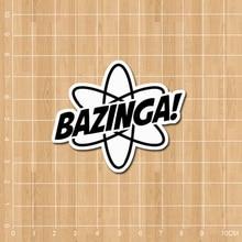 """""""Bazinga"""" sticker"""