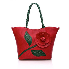 Luxury Handbags Women Bags Designer Chinese Classical Flower Shoulder Bags for Women Leather Bags Women Crossbody bolsas T594