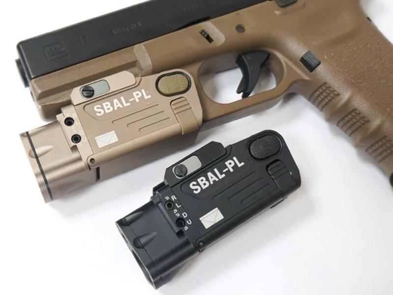 Cqc tático SBAL-PL pistola arma de luz