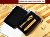 European Retro Wax Seal Stamp Set As Gift For Friend
