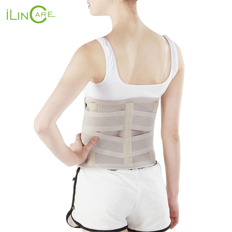 Breathable Adelgaz Lumbar Support Belt Back With 3 Abs Support