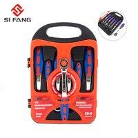 7sets hex wrench spanner box ratchet head reversible ratcheting wrench set tool box adjustable spanner set ratchet tool set