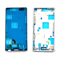 White Color For Sony Xperia Z3 Mini Compact D5803 D5833 Bezel Middle Frame Replacements Parts Free Shipping + Tracking Code