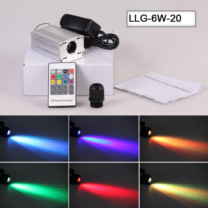ФОТО factory small body 6W car projector starry sky fiber optical light engine