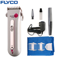 FLYCO professional Rechargeable Electric Hair Clipper Hair Trimmers Professional Haircut barbeador Machine for Baby Mute FC5802