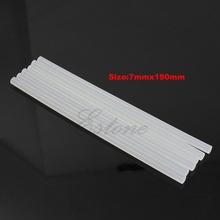 Hot Melt Glue Sticks 6Pcs 7mm Hot Melt Glue Sticks For Electric Glue Gun Craft Album Repair M216 HOT SALE cheap BENGU CN(Origin) NONE see information Transparent