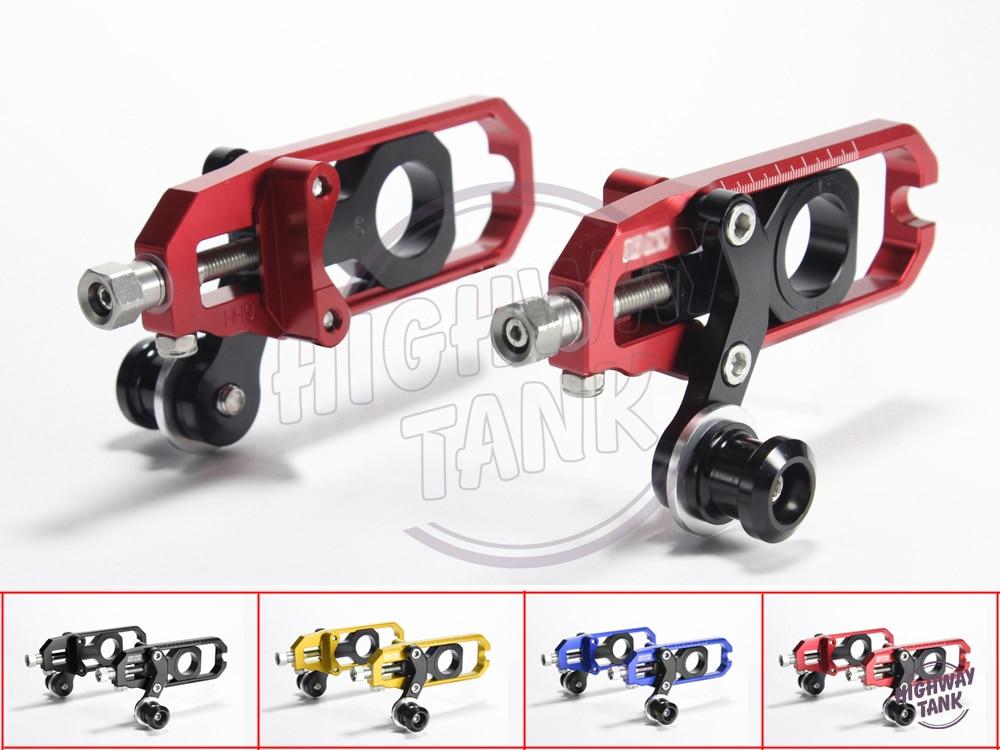 Случае цепи CNC Алюминиевый мотоцикл Регулятор для Suzuki GSXR1000 2009-2013 К9 10 11 12 набор натяжное устройство цепи