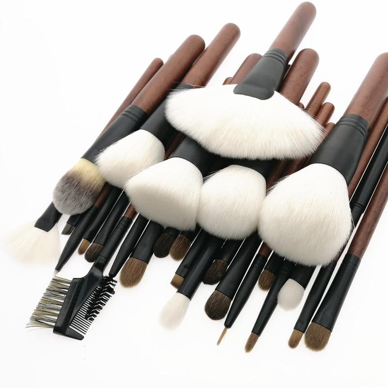 Güzellik ve Sağlık'ten Göz Farı Aplikatörü'de Sylyne profesyonel makyaj fırçası seti 26 makyaj fırçası yüksek kalite en yumuşak doğal Keçi Kılı makyaj fırça seti kiti araçları.'da  Grup 2