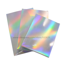 50 Pcs Holographic Gift Party Paper Box Laser Card Case Cartons Gift Boxes Cosmetics Package Candy Boxes Wedding Favour
