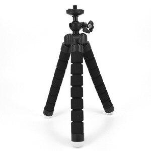 Image 2 - Mini Sponge Tripod Stand Holder For Gopro Hero 7 6 5 4 Session Xiaoyi Xiaomi Yi 1 2 4K Lite SJcam Camera Smart Phone Accessories