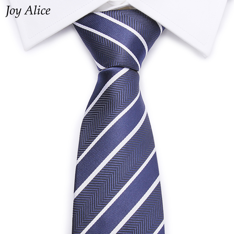 2018 High-grade Blue Striped tie