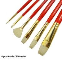 Pincel de tinta profissional winsor & newton  pincel de cerdas de alta dureza para artista  materiais de arte e pincel de acrílico