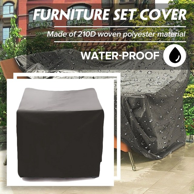 Dust Covers Waterproof Dust-proof Furniture Chair Sofa Cover Protection Garden Patio Outdoor Rain Snow Dustproof Covers Household Merchandises