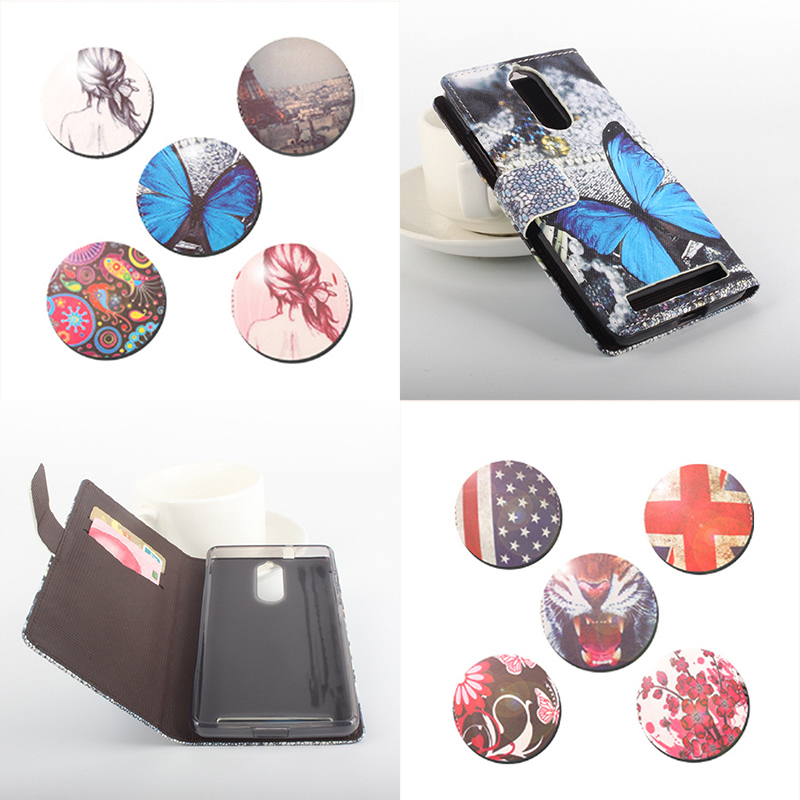 Painted Fashion For Lenovo K5 Note Case Good Quality Leather Case Silicone Cover For Lenovo K5