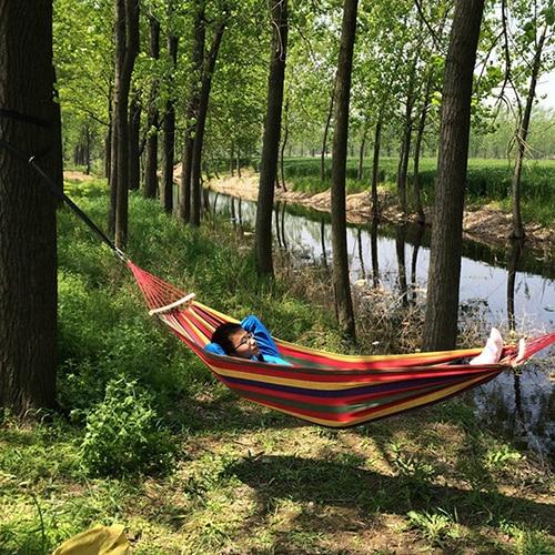 Cinta forte de náilon correia rede pendurado correia árvore correia portátil pendurado árvore corda ferramenta acampamento ao ar livre com fivelas
