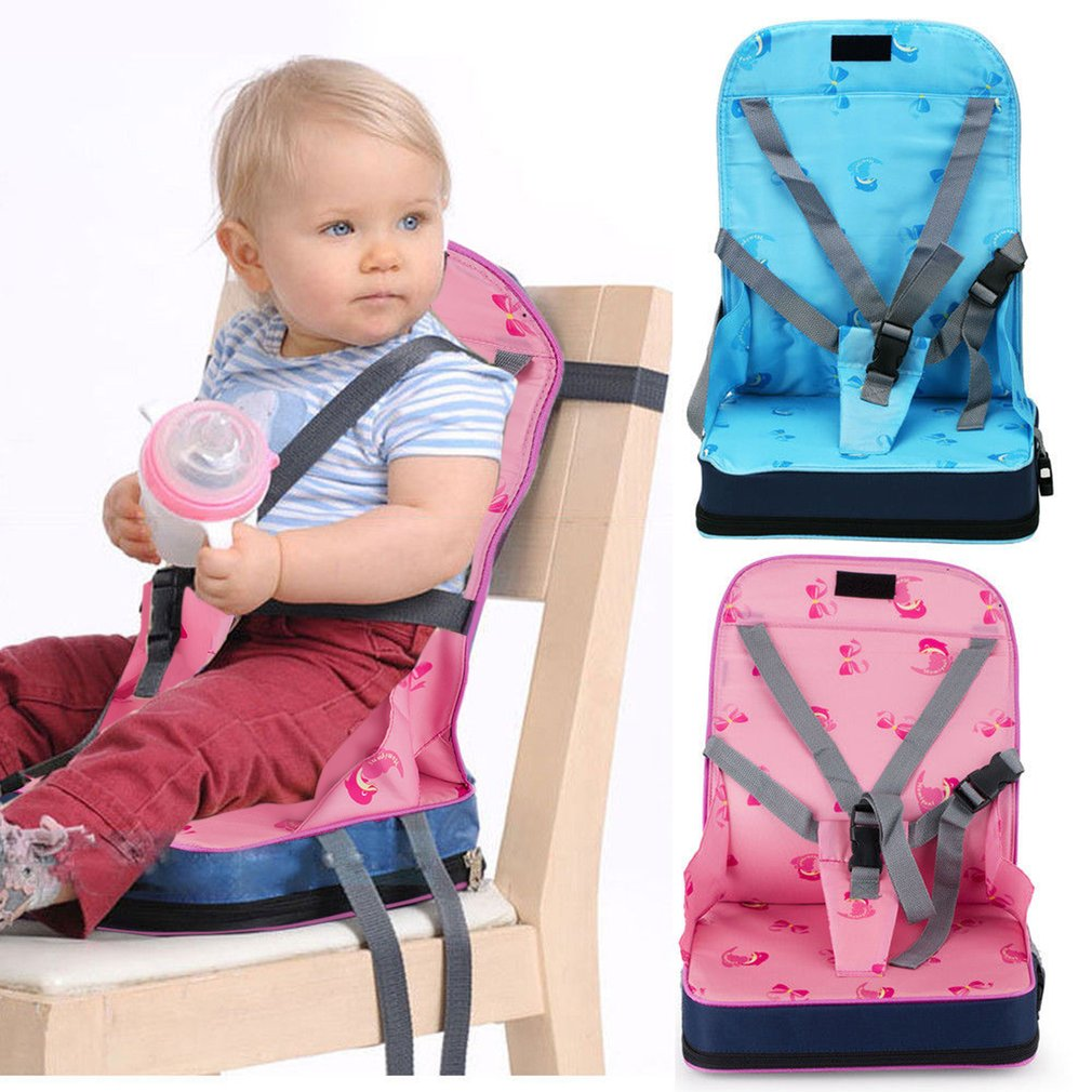 Toddler Chair Booster Seat Blue Swivel Buy Portable Baby Infant Dining Harness Image Safety Belt Travel Foldable Feeding