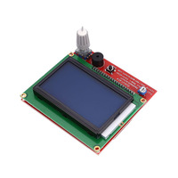 Cewaal 3D Printer Controller Board DIY 12864 LCD Smart Display Controller Full Graphic For Mother Board