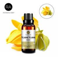 30 мл эфирное масло Ylang чистое растительное масло для ухода за кожей водорастворимый аромат Ylang улучшение для масла бессонница Против депрес...