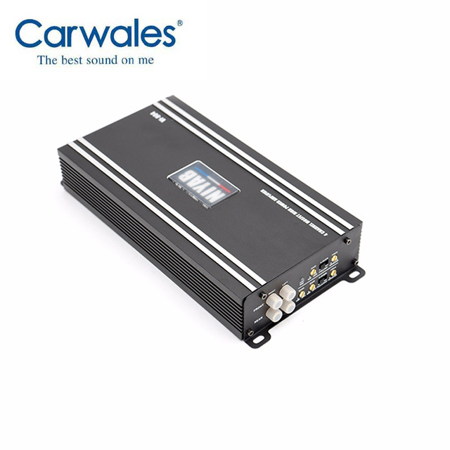 US $61 01 15% OFF|2018 New Car Audio Class Digital Amplifier Audio  Amplifier Black Steel Brushed Aluminum Box Special for Subwoofer 4  Channels-in Mono