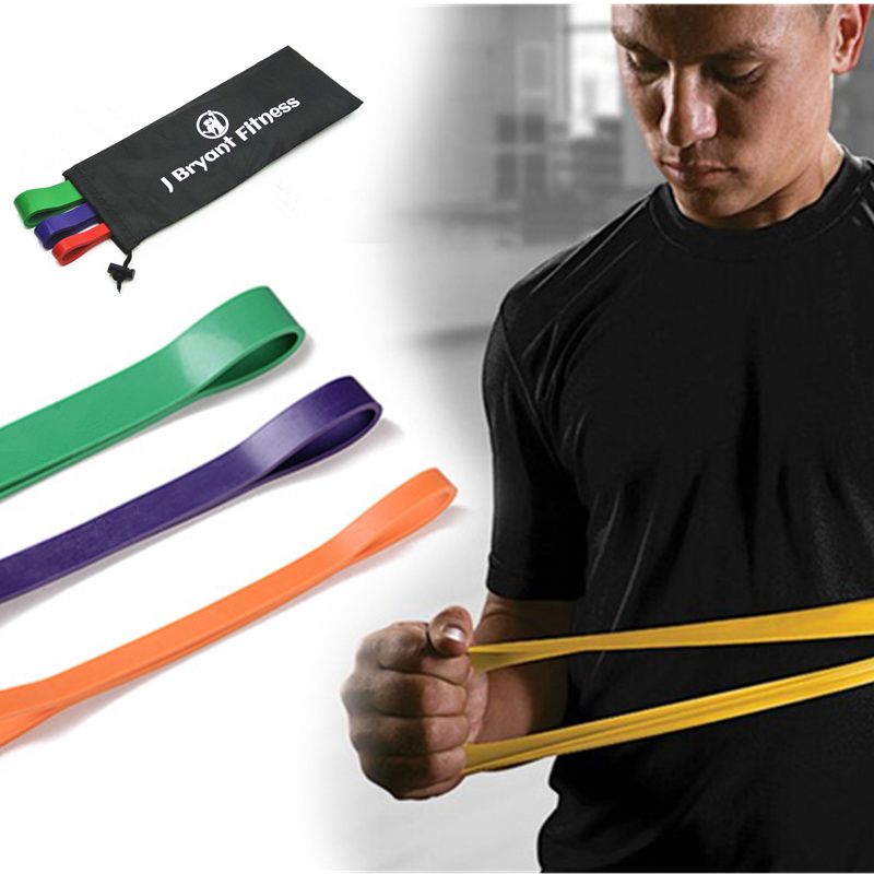 New 3 Pcs/Set Fitness Crossfit Latex Resistance Bands Workout Gym Exercise Equipment Rubber Bands Fitness Expander Strengthen