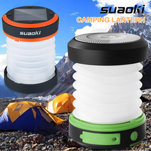 Suaoki солнечная панель фонарь для кемпинга
