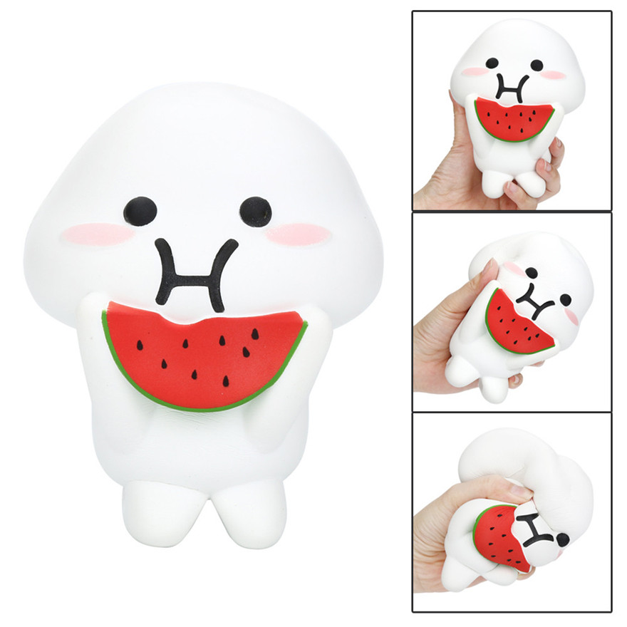 CCCZQ toy Squishy Watermelon Doll Scented Slow Rising Collection Squeeze Stress Reliever Toy MAY 23