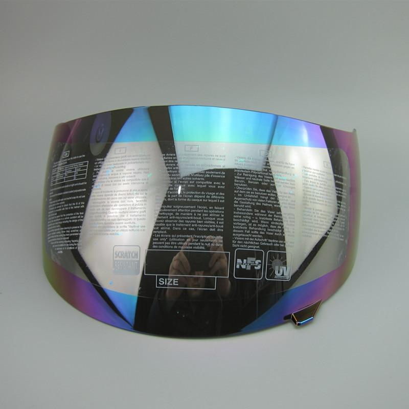 TOP qualität für agv K3 K4 Volle gesicht moto rcycle helm visier helme moto helm schild objektiv (nicht für agv K3 SV) 4 farben objektiv