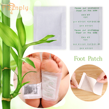 цена на 20pcs=(10pcs Patches+10pcs Adhesives) FTEENPLY Foot Patch Natural Products Bamboo Vinegar Charcoal Nourishing Feet Care
