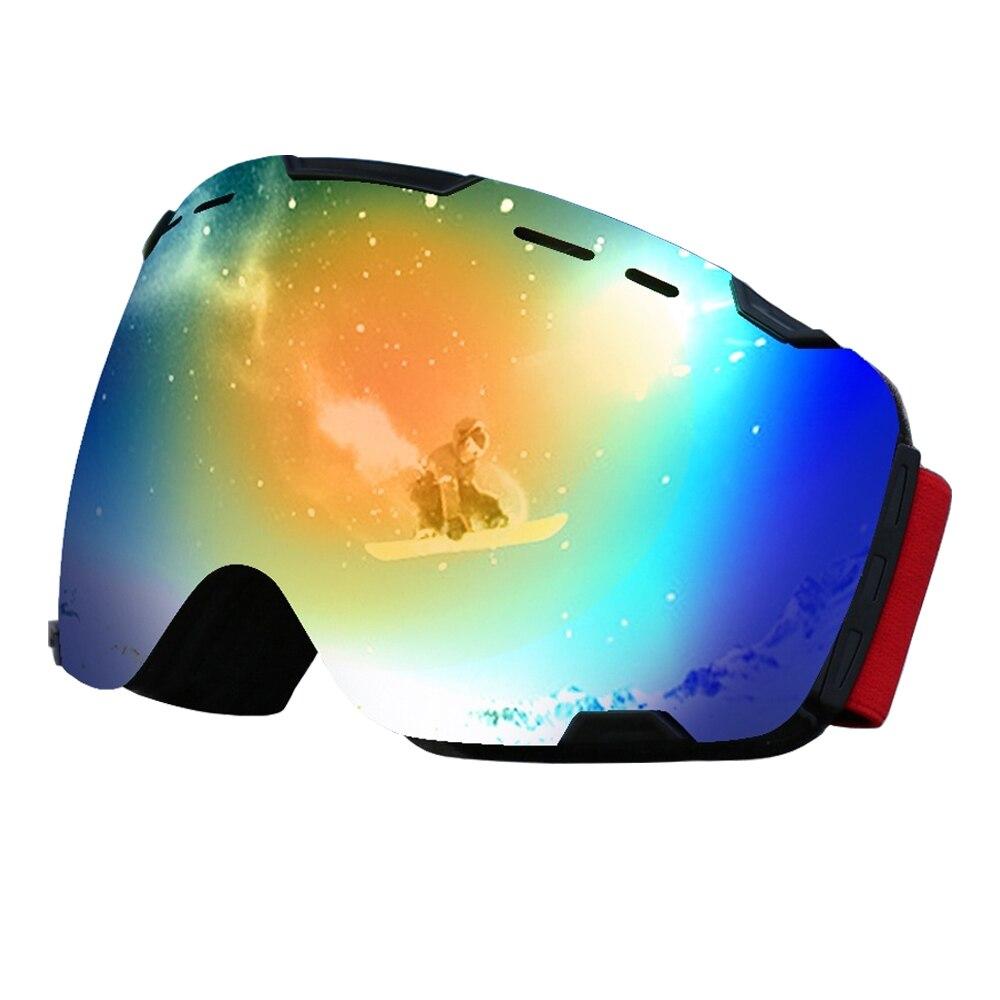 Adulte italie importé Double lentille myopie sphérique neige lunettes OTG UV400 résistant aux chocs snowboard Ski lunettes Anti-buée lunettes