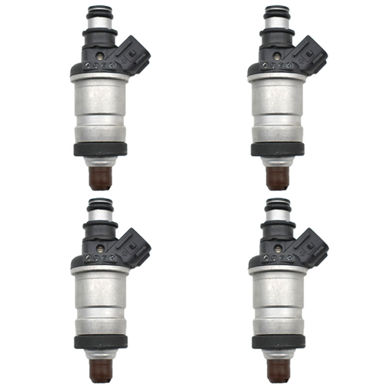 Original 4pc lot 06164 P2J 000 Fuel Injectors 06164P2J000 For Honda Accord Civic Odyssey Acura RL