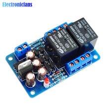 Ses hoparlör koruma levhası bileşenleri Boot gecikme DC DIY kiti korumak Stereo amplifikatör ölçer Breadboard çift kanal