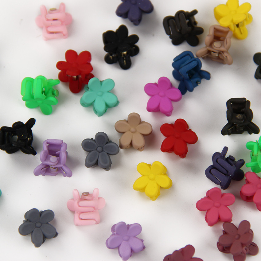 HTB1w2LlOXXXXXa.aXXXq6xXFXXX0 Cute Girls Multicolored Small Flowers Fashion Clip Clamps - 16 Colors