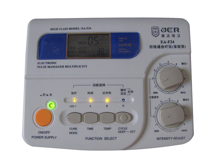 CE 2017 New Electro Acupuncture Stimulator EA-F24 Electronic Meridian Therapeutic Stimulation massage and pain reliever machine