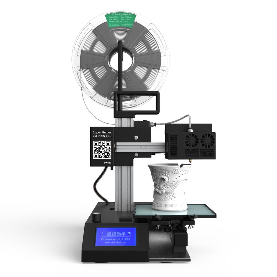 Супер помощник SH155L Многофункциональный 3D принтеры для продаж + лазерная гравировка + резки построить Размеры: 155*155*205 мм
